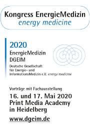 Kongress EnergieMedizin 2020 - jetzt anmelden!